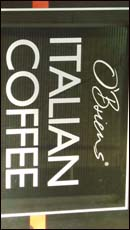 Another coffee sign