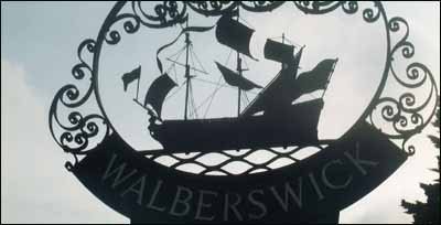 Walberswick village sign